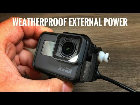 Weatherproof External Power for GoPro Hero 5/6 | X~PWR-H5