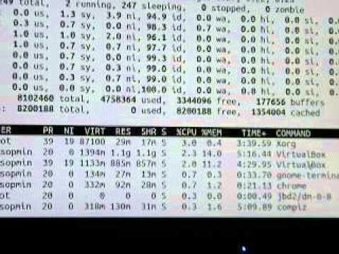 Unix Performance tuning basics