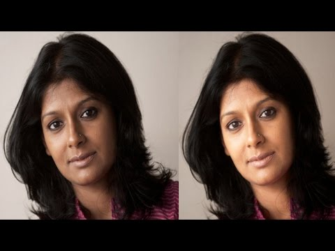 Easy way  to change skin colour from dark to light in Photoshop ( in Tamil with ESubs )