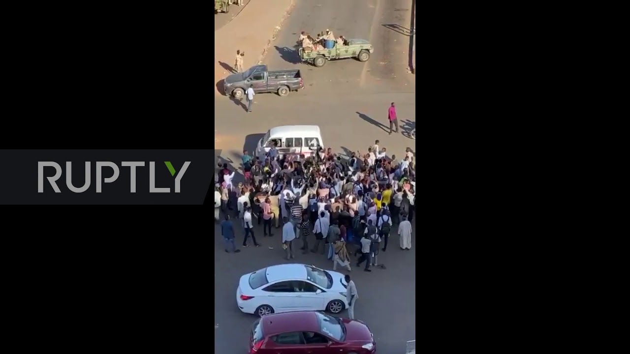 """Sudan: Security forces"""" vehicles seen near airport as gunfire erupts at base"""