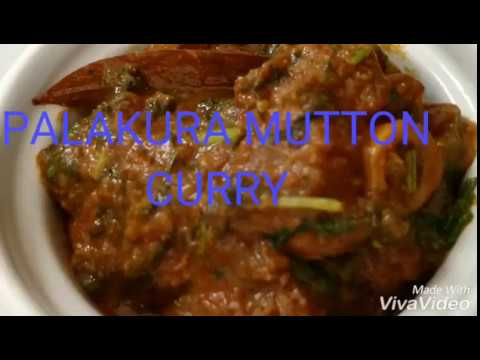 Palakura Mutton Curry