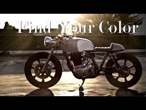 Cafe Racer (Tips to find the right color)