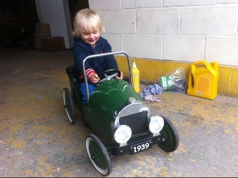 Home Made Electric vintage Childs Car