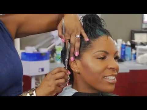 HOW TO CUT SHORT HAIR WET OR DRY AND WAVE,@CRAZYABOUTANGEL