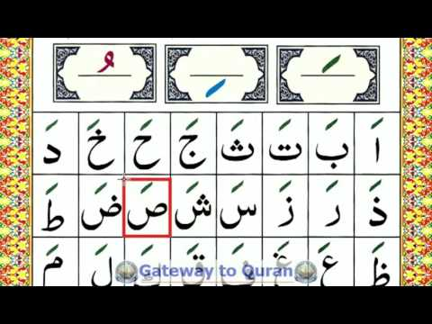 Learn to read Quran with Tajweed Qaida Lesson 04 Part 1 Alif fatha a - Arabic Vowel Fatha / Zabar