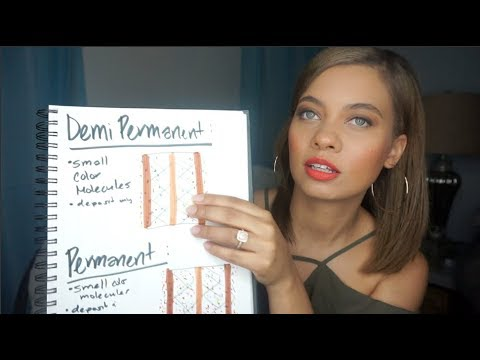 TYPES OF HAIR COLOR! PERMANENT, SEMI/DEMI? WHAT DOES IT ALL MEAN?! | Brittney Gray