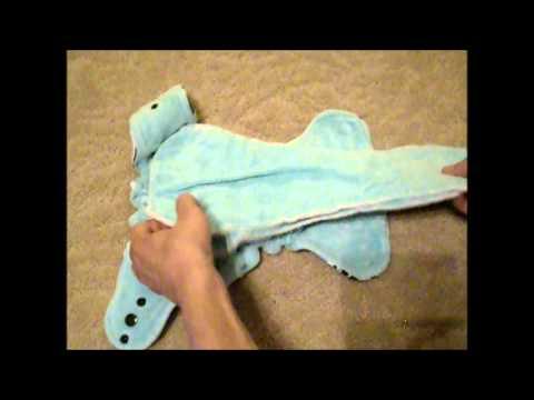 La Petite Krott Creations Sized Fitted Diaper - Review & Demo
