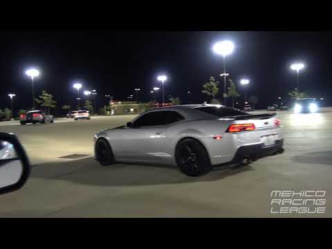 CTS-V vs Mustang Vs 5th Gen Camaro!