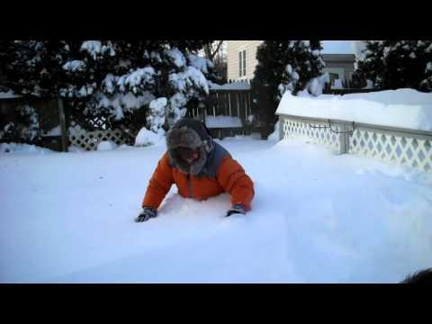 Snow Just Ate My Legs!(HD)