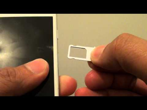 iPhone 6: How to Insert / Remove New SIM Card