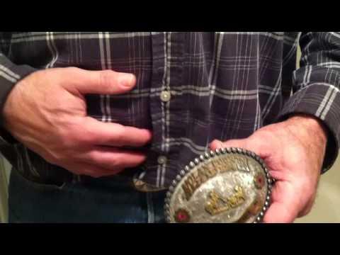 Interview concerning belt buckle