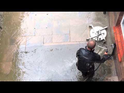 Amazing 13 Minute Back Yard Pressure/Jet/Rotary Clean