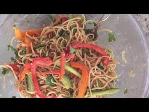 Thai noodle salad Hindi recipe