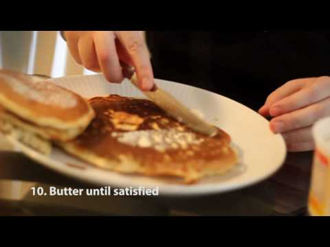 How to make Pancakes ... the easy way.