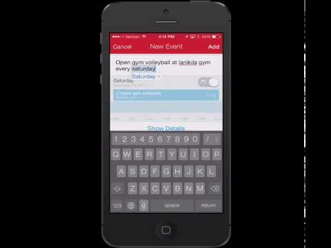 The Power iPhone User- Fantastical 2