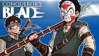 Conqueror's Blade - DELIRIOUS ARMY ASSEMBLE! (Take down the castle!)