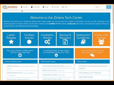 คลิปที่-0040-การติดตั้งและใช้งาน zimbra mail server