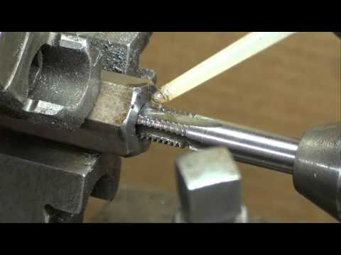 MACHINE SHOP TIPS #50 Lathe Project Plumb Bob Pt 2 of 3 tubalcain