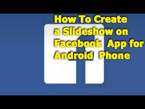 How To Create A Slideshow on Facebook App for Android