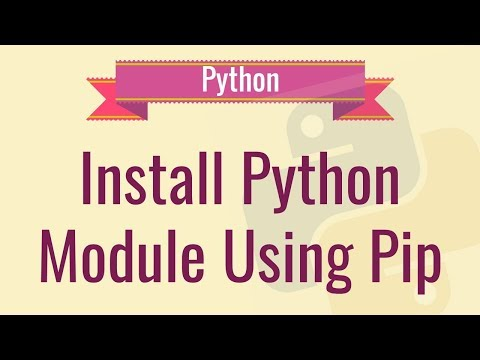 Adding Modules for python using command prompt || Fastest working method