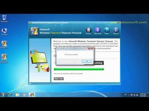 Unlock Windows XP Administrator Password Using USB Device
