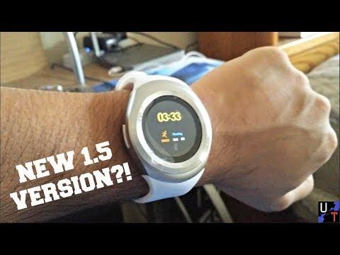 New Y1 Smartwatch Version: Internet Browser & More!