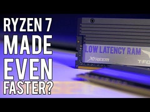Ryzen 7 EVEN FASTER - Low Latency RAM testing