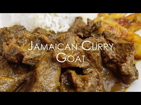 JAMAICAN CURRY GOAT | Cooking Tutorial • Malaika Malz