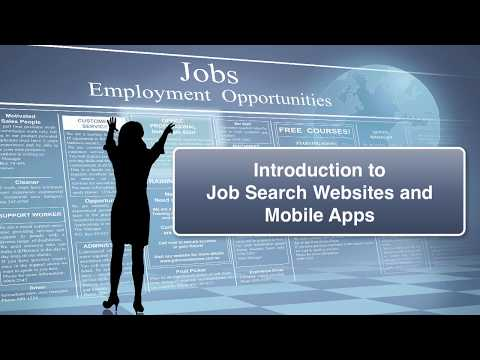 Job Search Apps and Websites