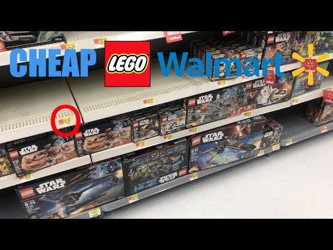 Buying CHEAP LEGO At WalMart! Person Arrested!