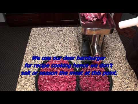 Deer Processing with LEM 3/4hp Meat Grinder