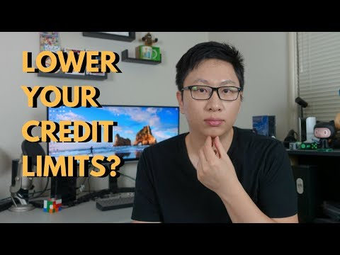 Should You Lower Your Credit Limits? (Chase Cards)
