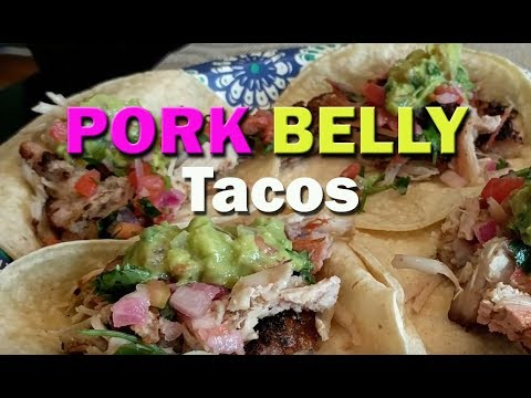Pork Belly Tacos on the Grill