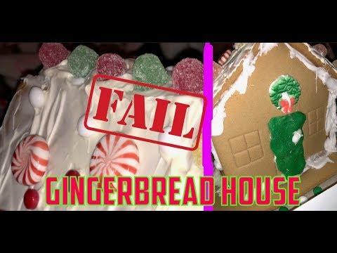 Gingerbread House Building FAIL
