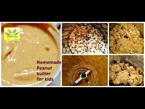 पीनट बटर घर में कैसे बनाये | Homemade Peanut Butter Recipe in Hindi