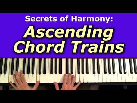 Learn Piano Harmony: Ascending Chord Trains