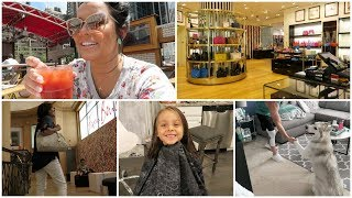 Giving Bella a Haircut + Day In NYC! July 25-26, 2017