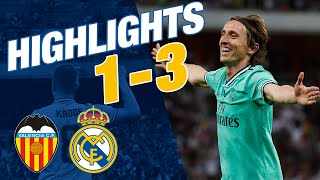 GOALS AND HIGHLIGHTS Valencia 1 3 Real Madrid Spanish Super Cup