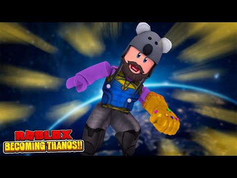 USING ADMIN COMMANDS AS THANOS!! | Roblox Superhero Tycoon