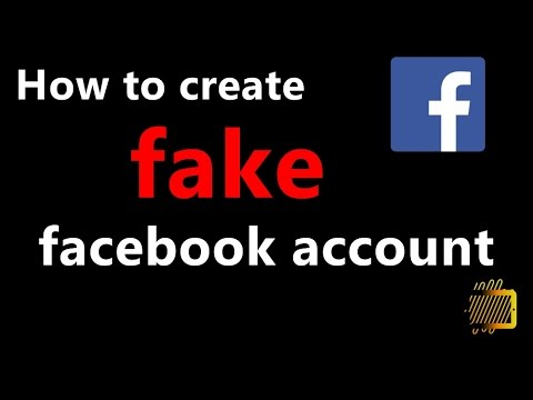 How to create fake account on facebook [amazing trick]