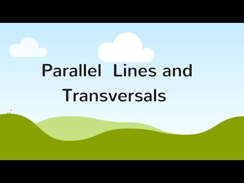 Parallel Lines and Transversals - Geometry Made Easy!