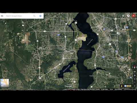 Use Google Maps to Find Fishing Spots