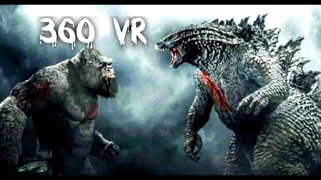 Kong Vs Godzilla Trailer 2021 True Cinema VR Experience