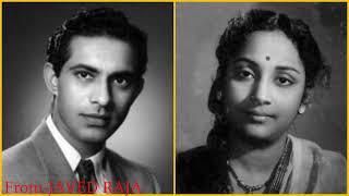 TALAT MAHMOOD & GEETA DUTT-Film-SANGAM-1954-Raat Hai Arman Bhari-[ HQ Audio Sound ]