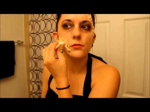 Time Lapse Zombie Makeup