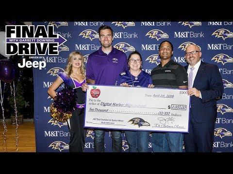 Ravens, Joe Flacco Honor Local Teacher | Final Drive