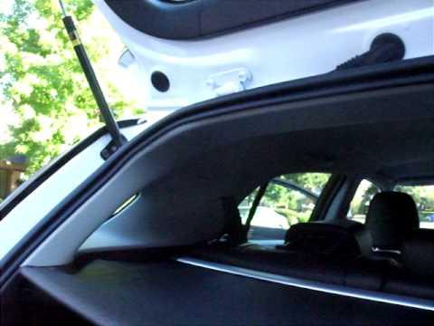 2011 Lexus CT200h hybrid. Fuel Filler Door alternate access method video.