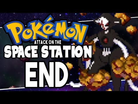 Pokemon Attack on The Space Station FINALE DEOXYS!! ( Pokemon Fan Game )