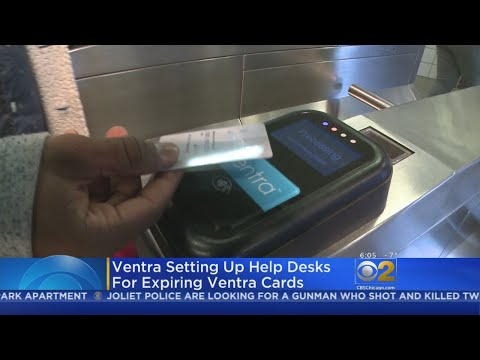 Some Ventra Cards Expiring As New Year Arrives
