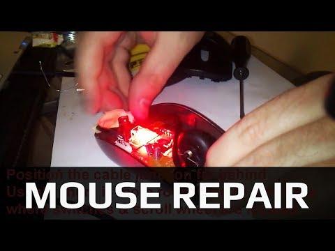 Logitech Computer Mouse USB Cable Repair